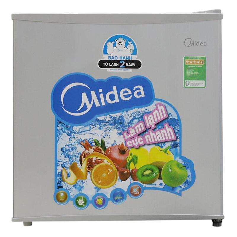 Tủ lạnh Midea HS-65SN - 65 Lít (Ghi)