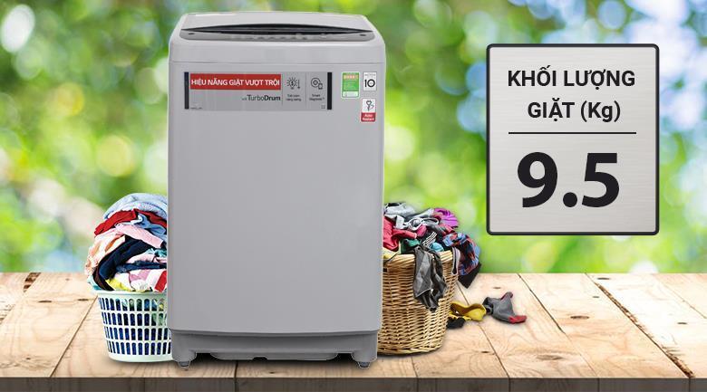 Máy giặt 9.5Kg LG T2395VS2M Smart Inverter