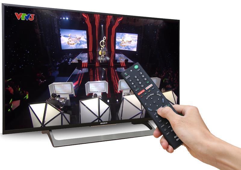 Smart Tivi Sony 43 inch 43X8000E, 4K Ultra HDR, Android TV, MXR 200Hz