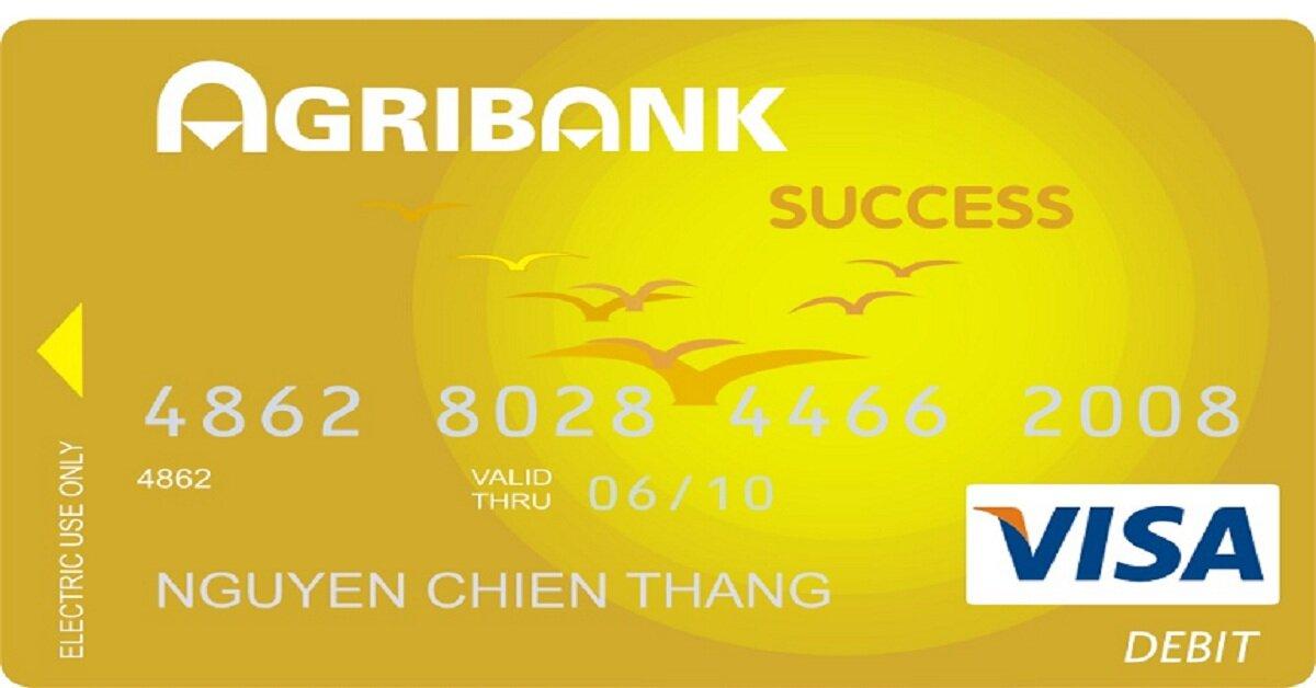 Tìm hiểu về thẻ ghi nợ quốc tế Agribank Visa/Mastercard