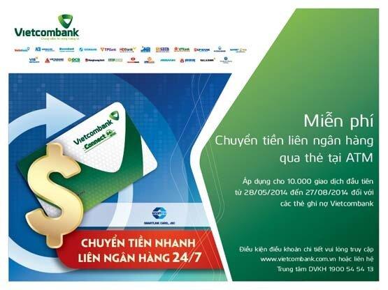 Chuyển tiền cho thẻ ATM khác ngân hàng như thế nào? Sau bao lâu nhận được?