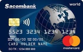 Điều kiện và thủ tục mở thẻ tín dụng Sacombank Mastercard