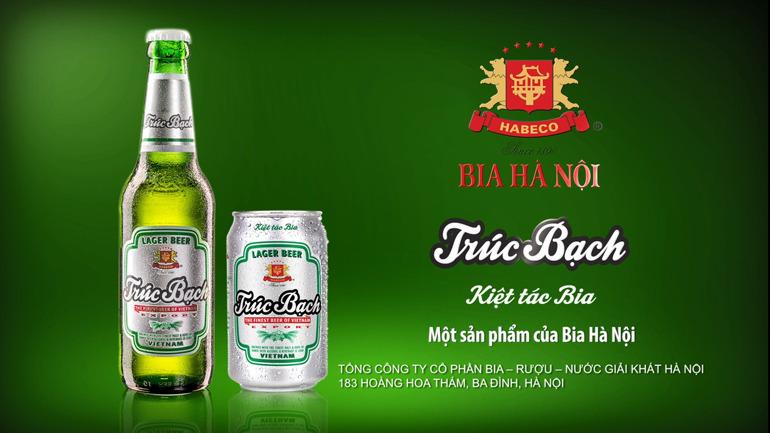 Bia Trúc Bạch của hãng nào sản xuất?