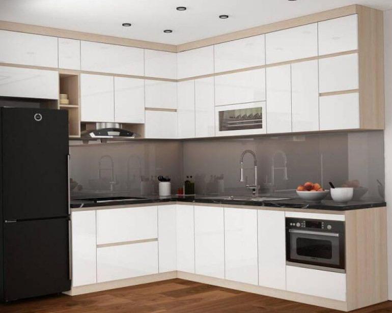Lưu ý tới tính thẩm mỹ khi sử dụng nội thất nhà bếp