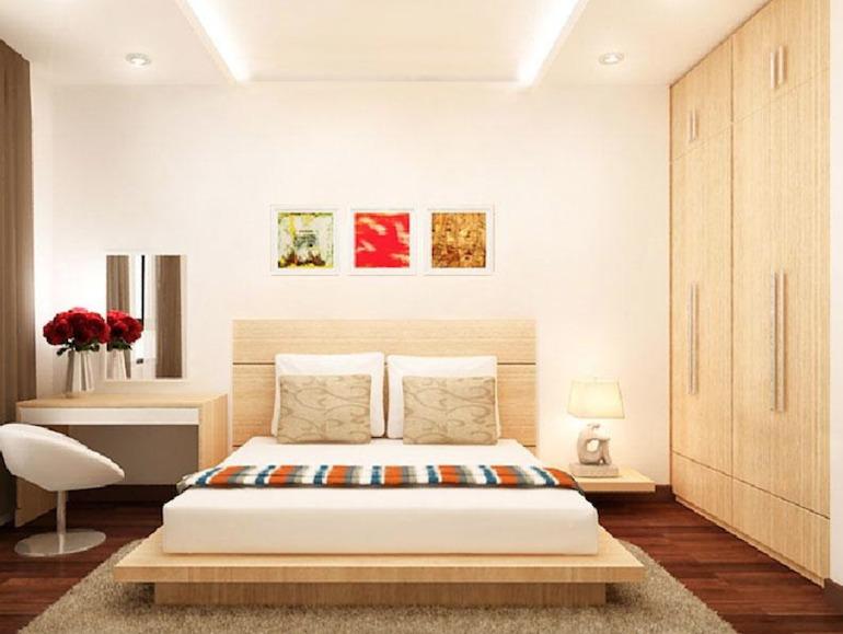 Lựa chọn nội thất phòng ngủ phù hợp với thành phần cố định của ngôi nhà