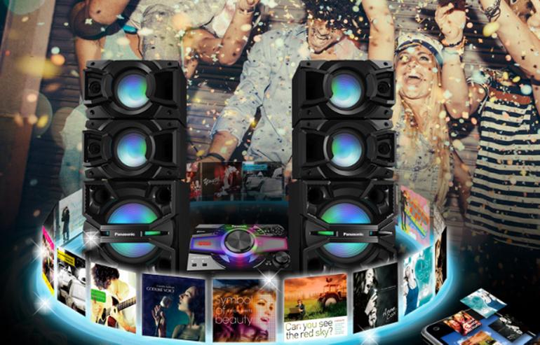 Không chỉ nổi bật về chất lượng âm thanh mà các dàn âm thanh Panasonic còn được trang bị thêm nhiều tính năng kết nối đa dạng như trình chiếu nội dung 3D Full HD, kết nối Wifi trực tiếp hoặc mạng có dây, USB, micro karaoke qua jack cắm,...