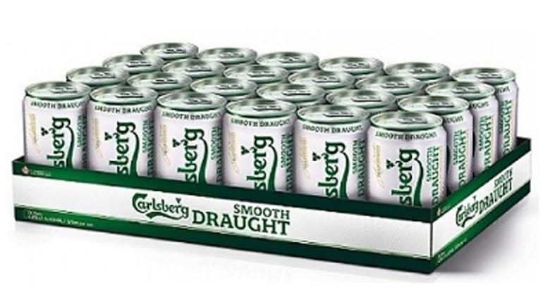 Bia Carlsberg giá bao nhiêu tiền?