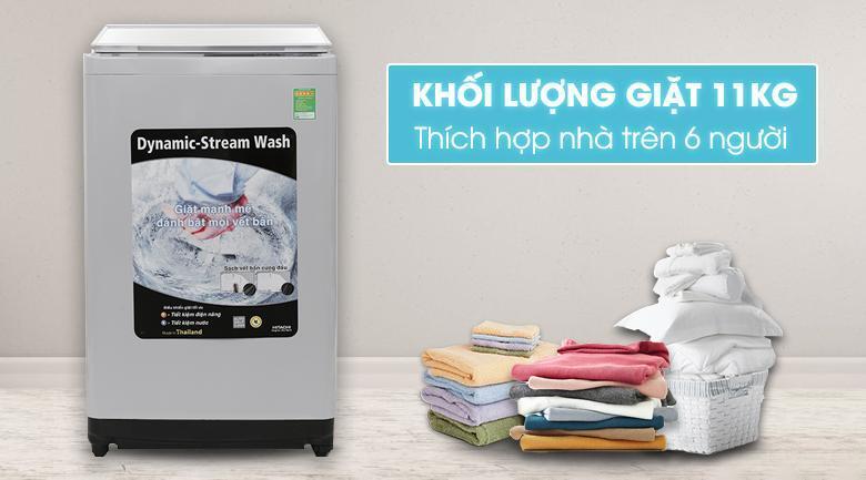 Máy giặt Hitachi 11kg SF-110XA 220-VT (COG-W)