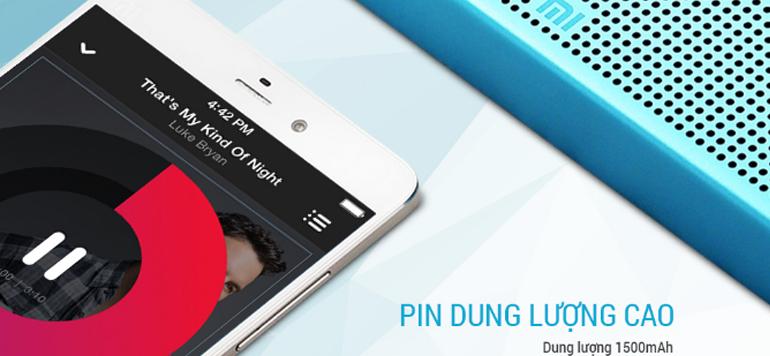 các loa Xiaomi thường cho thời lượng pin sử dụng liên tục trong khoảng 8 - 10 tiếng