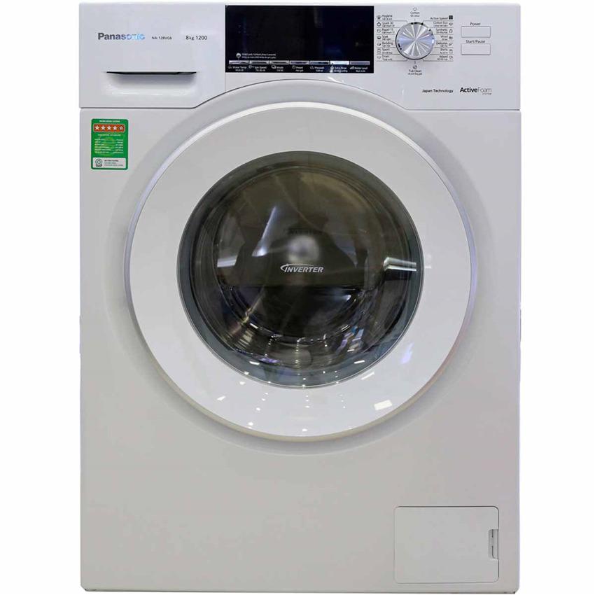 Máy giặt Panasonic Inverter 8 Kg NA-128VG6WV2