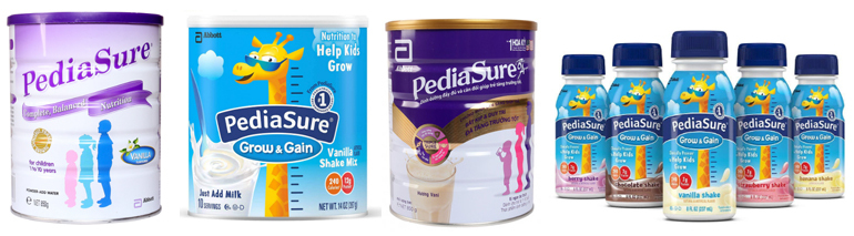 Có mấy loạisữa Pediasure trên thị trường hiện nay?