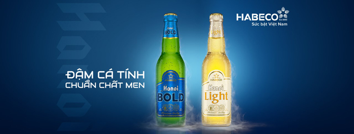 Bia Hà Nội Bold và bia Hà Nội Light