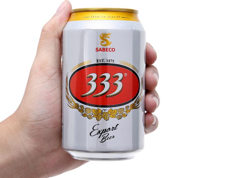 Bia Sài Gòn 333