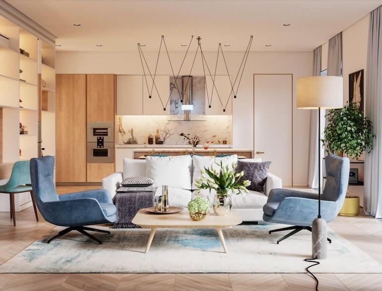 Các thành phần của thiết kế nội thất