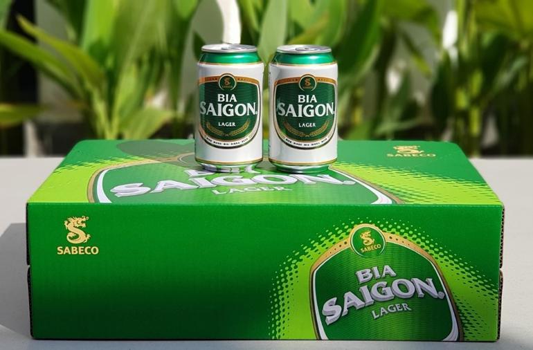 Bia Sài Gòn Lager - bia Sài Gòn xanh