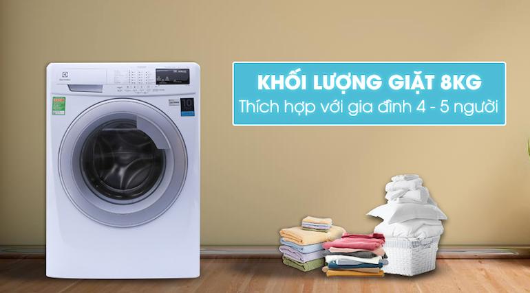 Máy giặt cửa ngang dưới 9kg