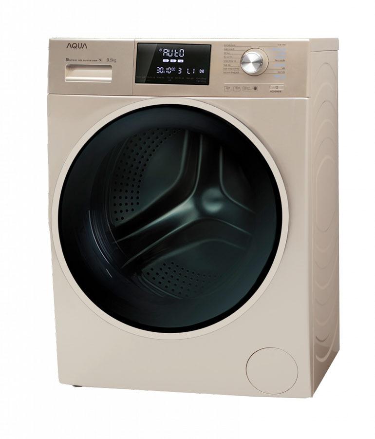 máy giặt aqua 9kg cửa ngang