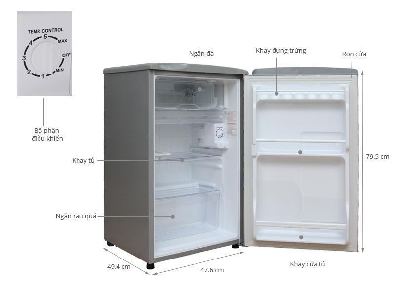 Cần kiểm tra thật kỹ tủ lạnh trước khi mua