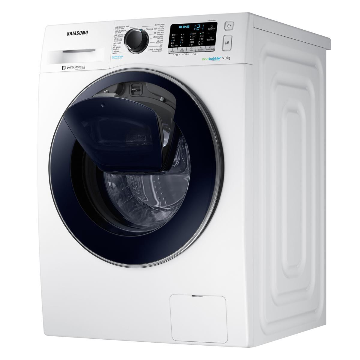 Máy giặt cửa trên Samsung AddWash WW85K54E0UW/SV