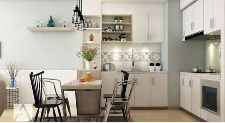 Lưu ý tới tính khoa học khi sử dụng và sắp xếp nội thất nhà bếp