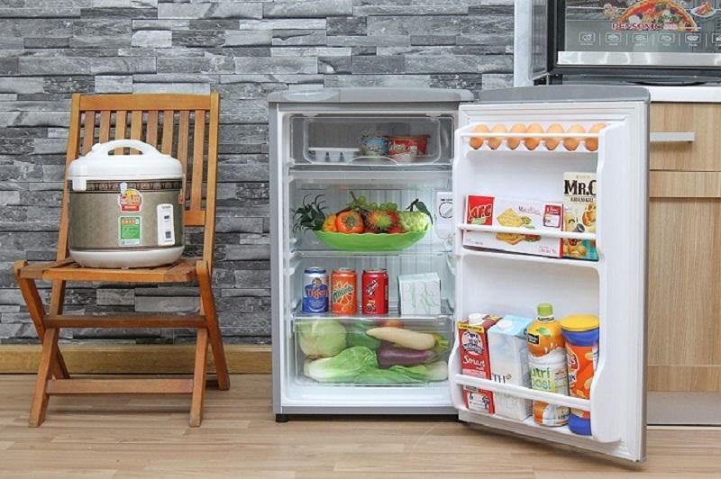 Tủ lạnh mini giá rẻ thiết kế nhỏ gọn và đơn giản