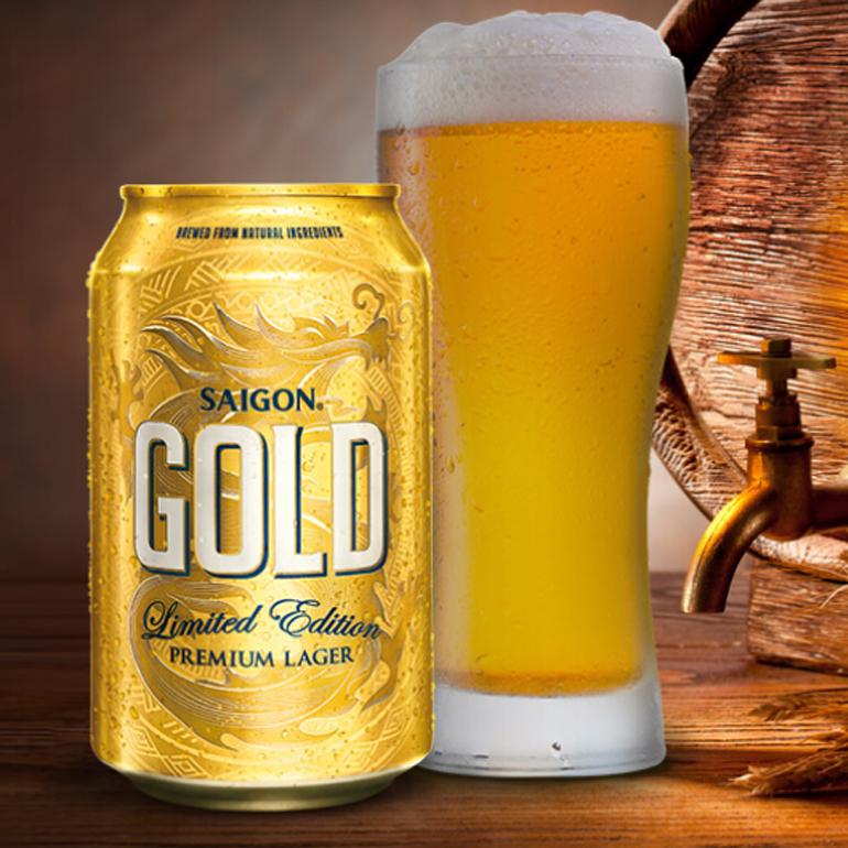 Bia Sài Gòn Gold