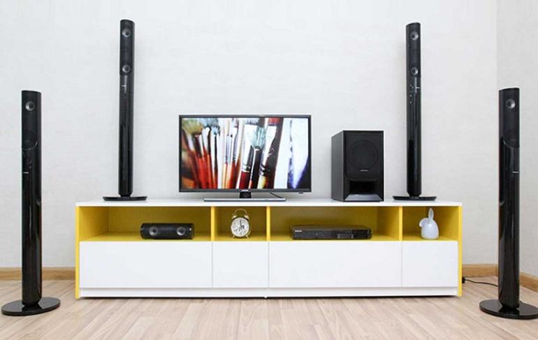 Crystal Amplifier Plus là công nghệ âm thanh đặc trưng của các dàn âm thanh Samsung hiện nay