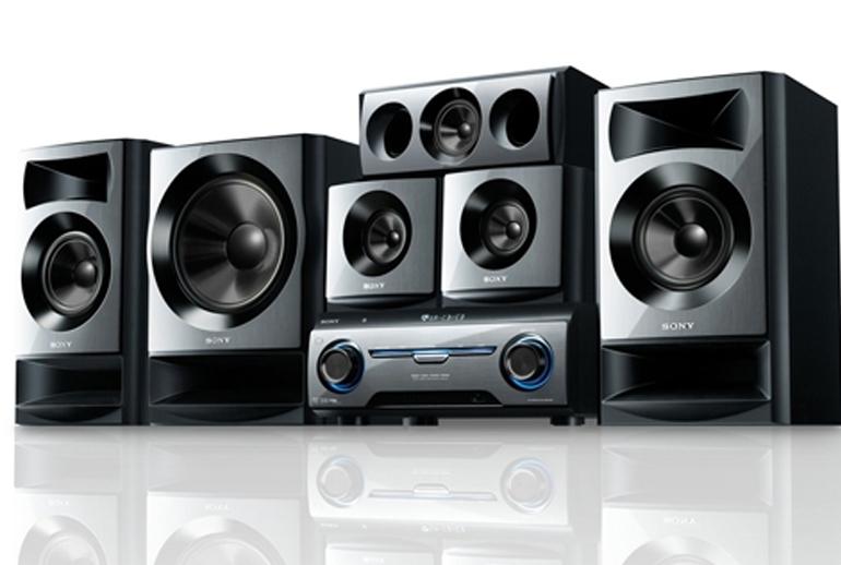 Dàn âm thanh Sony sở hữu thiết kế sang trọng và bắt mắt