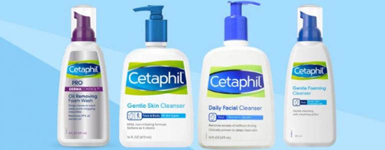Có mấy loạisữa rửa mặt Cetaphil trên thị trường hiện nay?