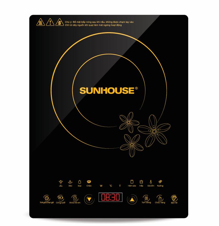 Bếp điện từ dương cảm ứng Sunhouse SHD6800