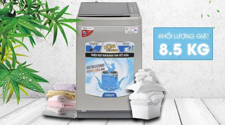 Máy giặt Aqua 8.5 kg AQW-U850BT S