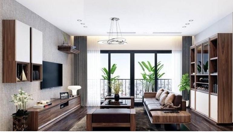 Lựa chọn nội thất phòng khách theo diện tích không gian phòng