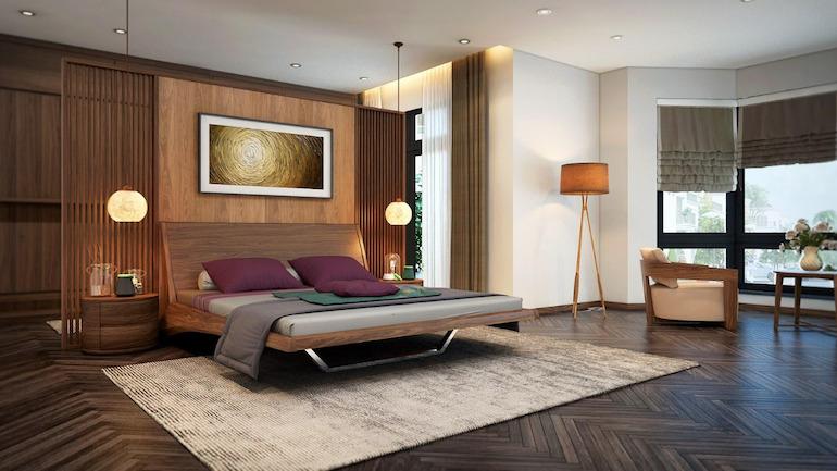 Lựa chọn nội thất phòng ngủ tạo ra sự tiện lợi trong quá trình sử dụng