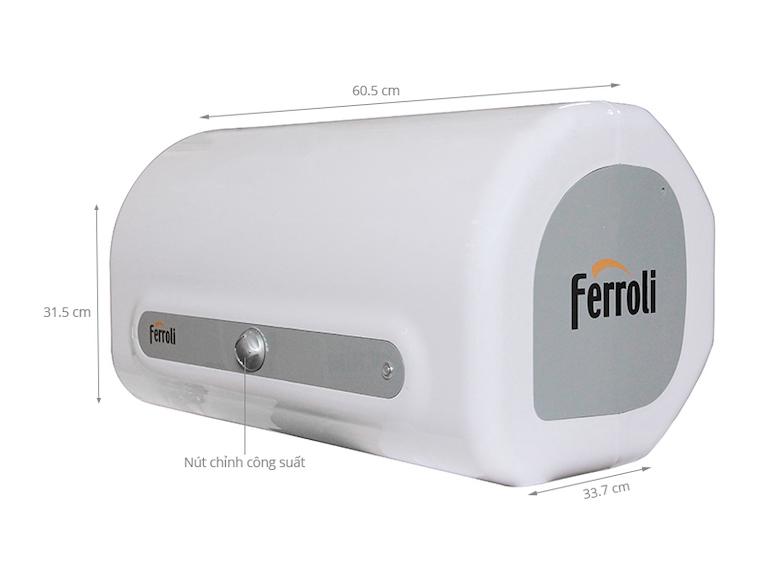 Máy nước nóng Ferroli QQ Evo 30L ME 30 Lít