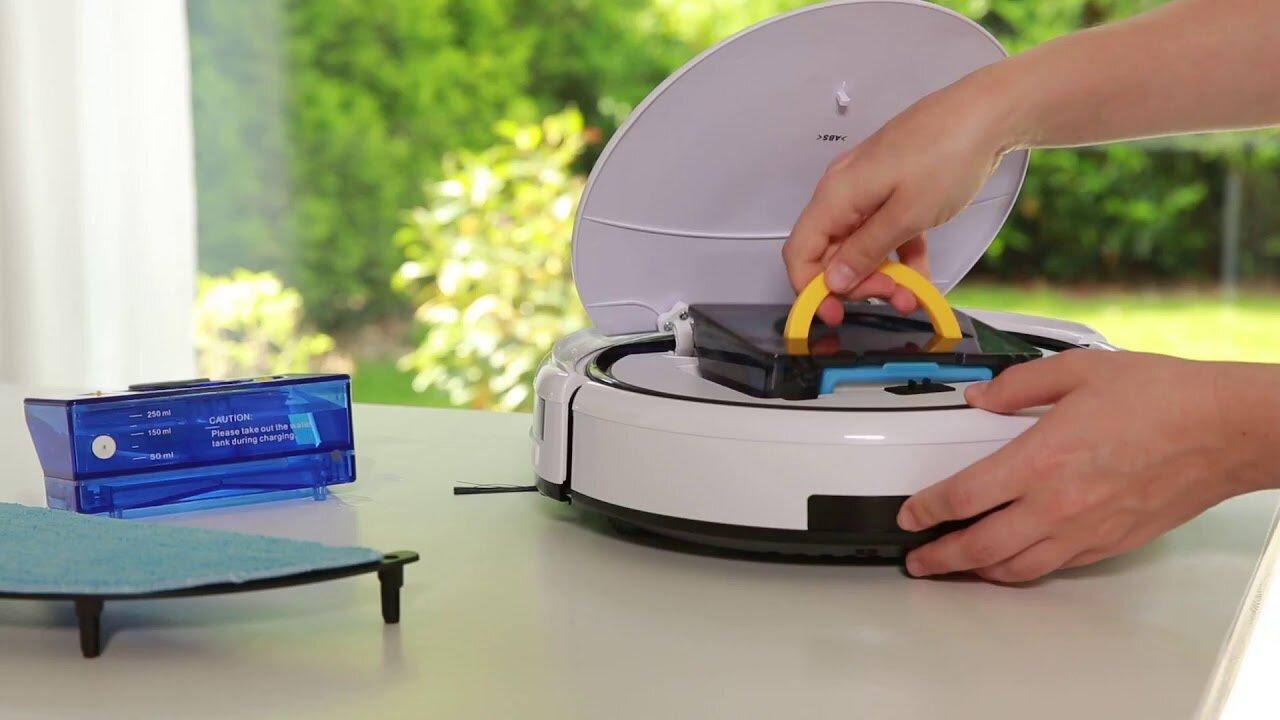 Dễ dàng thay thế, bảo trì Robot hút bụi Medion MD 18501