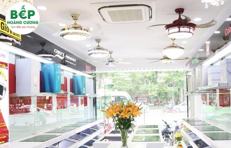 Hệ thống cửa hàng của Công Ty TNHH Đầu Tư Thương Mại & Dịch Vụ Hoàng Cương tại Thành phố lớn