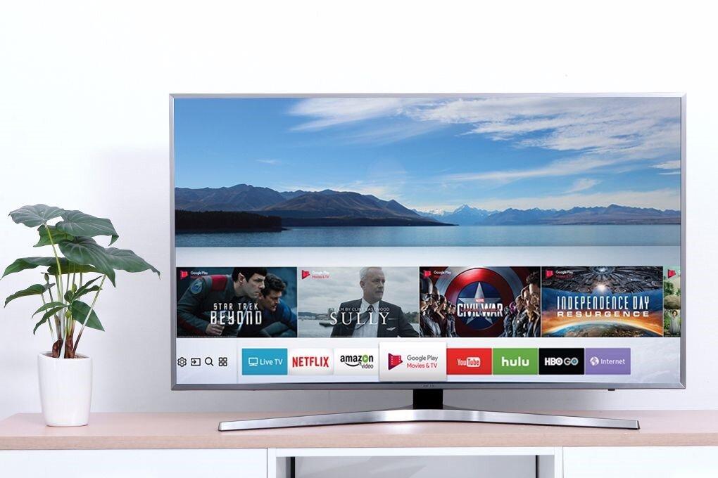 Giao diện Smart Hub trên tivi thông minh Samsung