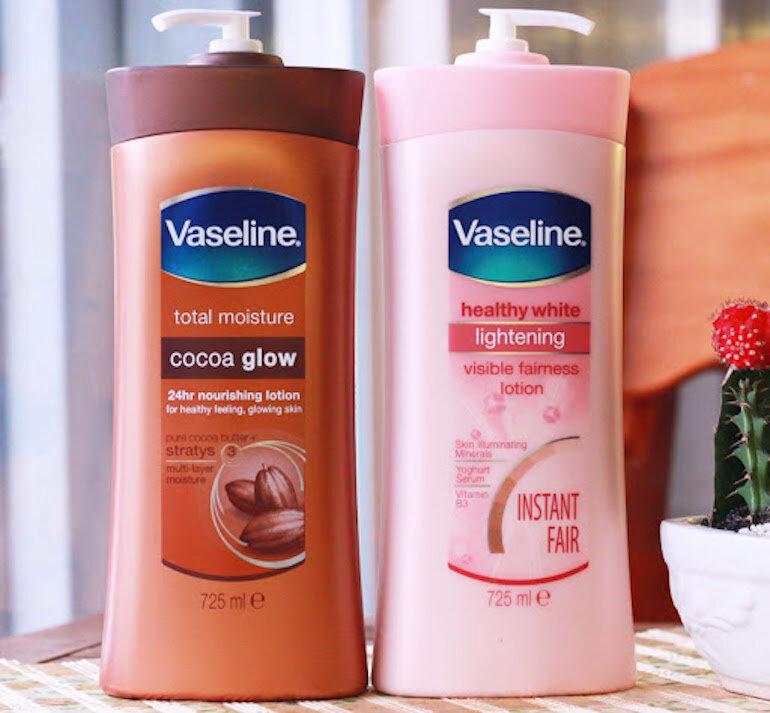 Những loại Vaseline phù hợp với những công dụng khác nhau