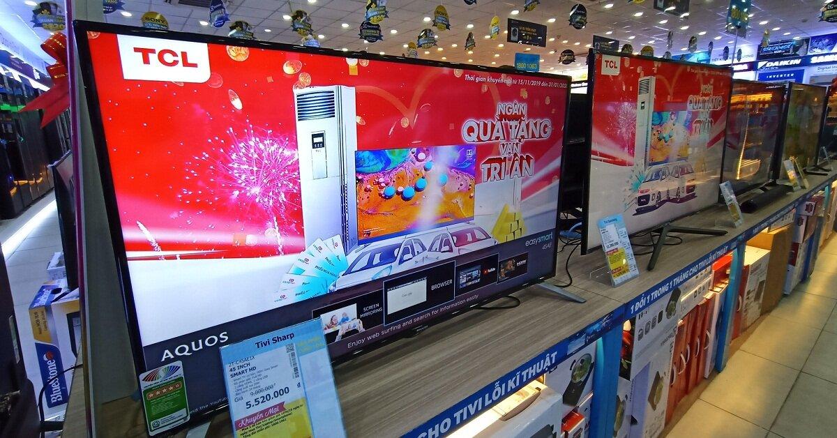 Giá tivi Tết 2021: LED giữ giá, smart tivi màn hình lớn, 4K, QLED, OLED giảm mạnh
