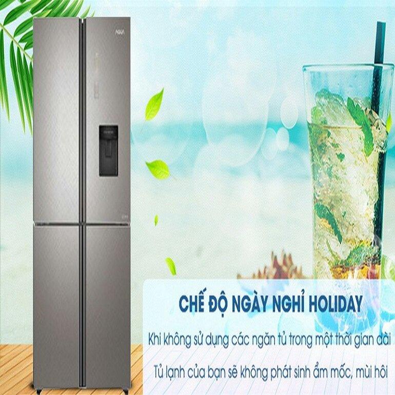 Tủ lạnh 4 cửa 511L AQUA AQR-IGW525EM (GP) Inverter