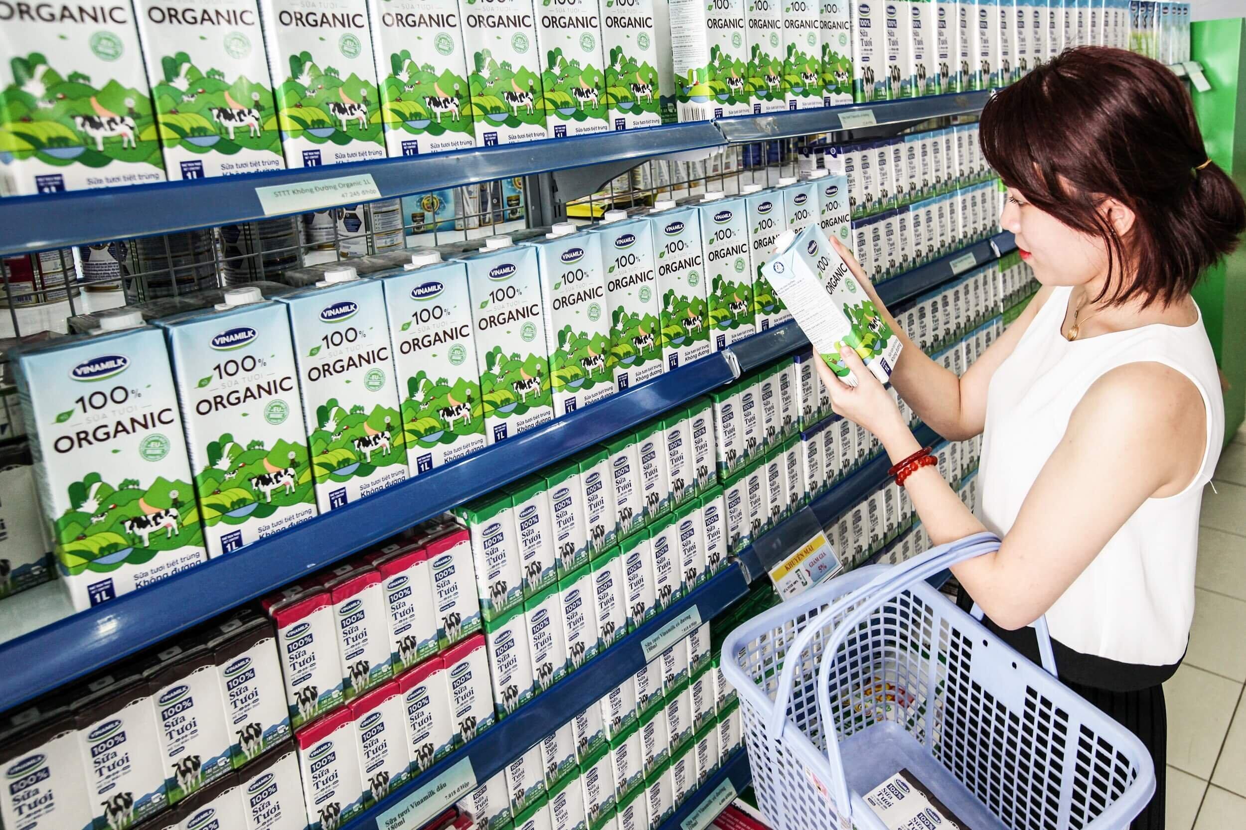 Sữa tươi Vinamilk được nhiều bà mẹ Việt Nam tin dùng