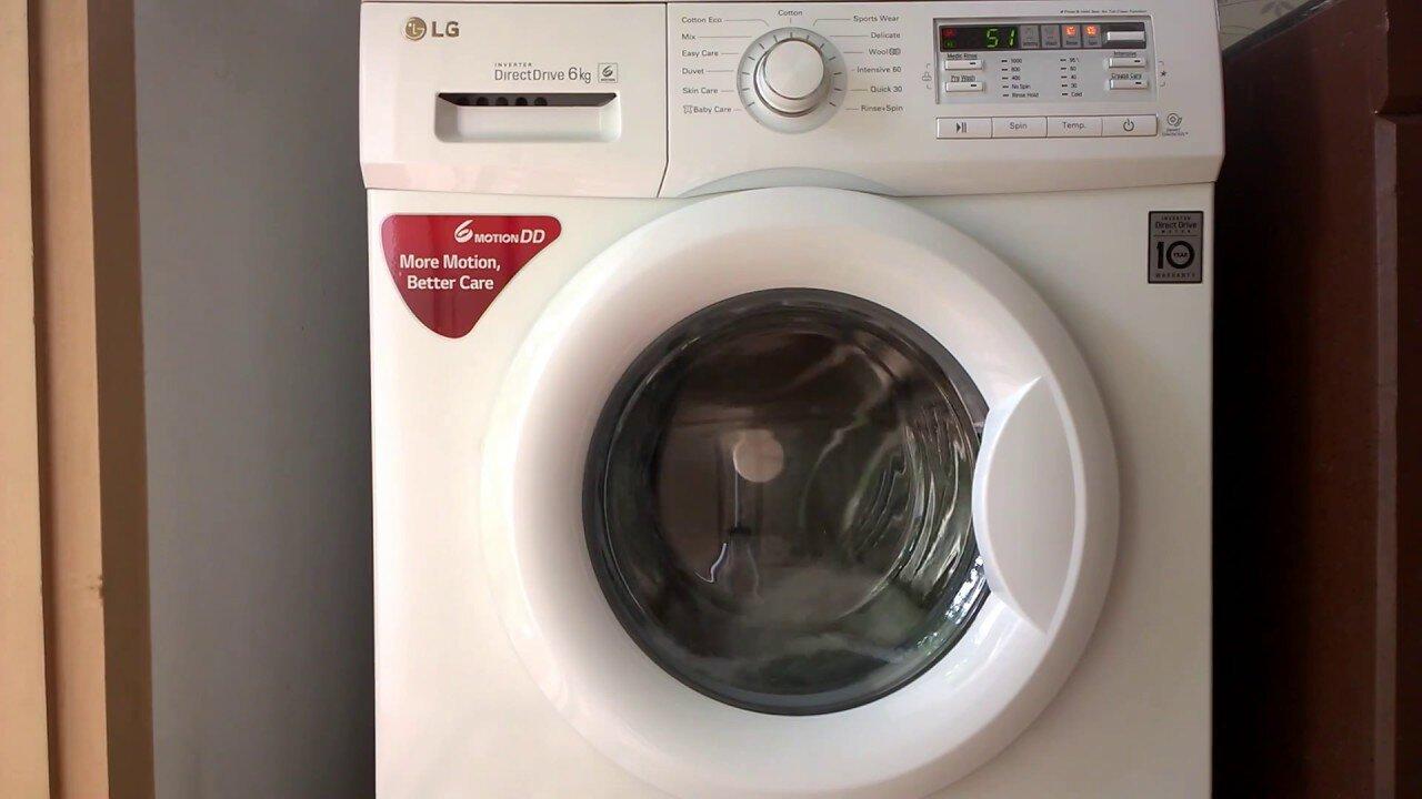 Máy giặt LG direct drive 6kg cho gia đình nhỏ