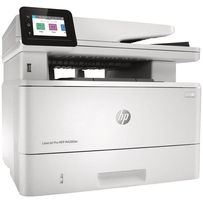 Máy in laser màu HP LaserJet Pro M428fdw: đa năng tốt nhất.