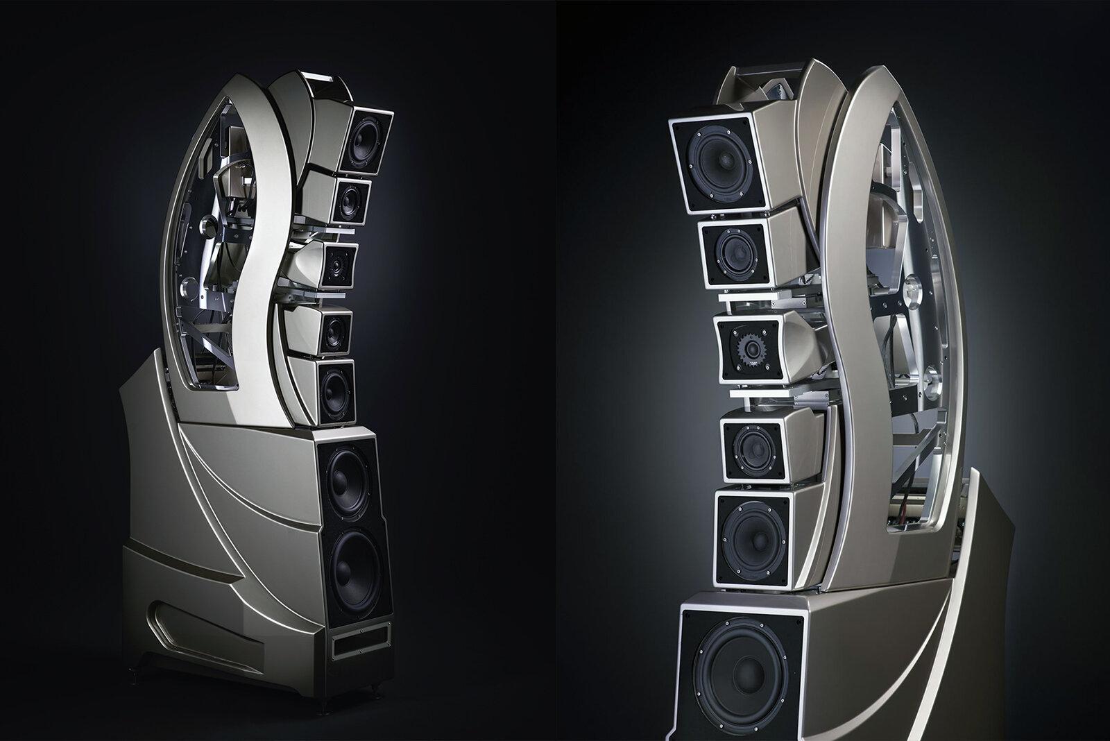 Cận cảnh chiếc loa Wilson Audio WAMM Master Chronosonic tinh xảo