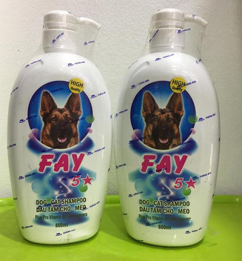 Sữa tắm Fay cho chó mèo