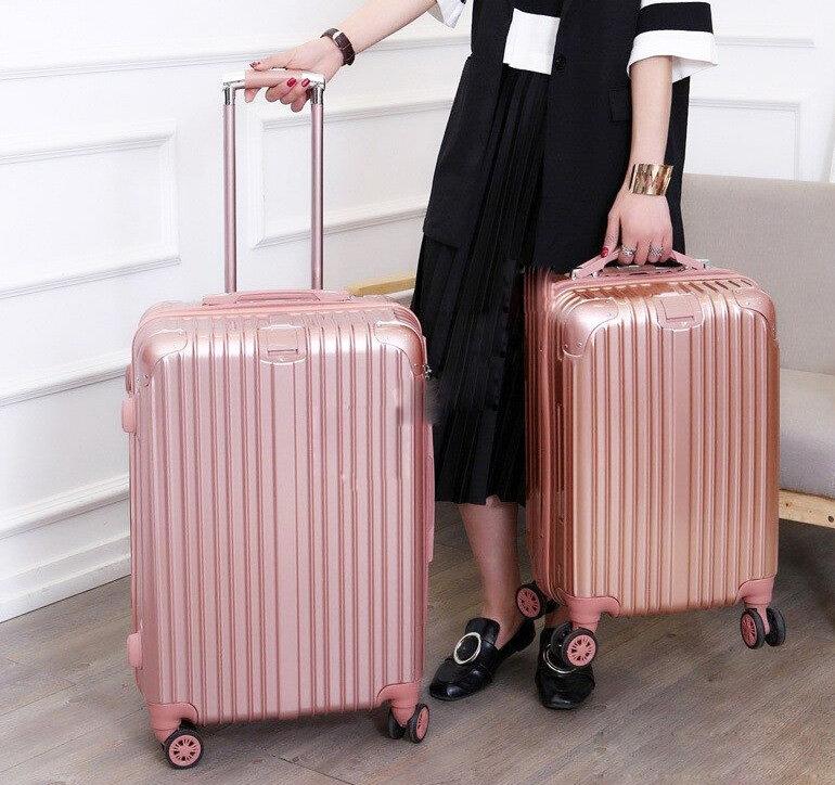 Tính chất sản phẩm ở vali kéo khóa và vali khóa sập