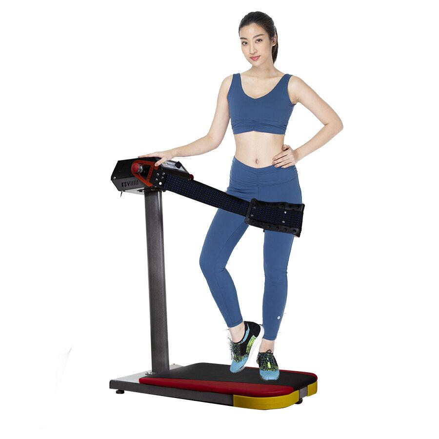 Máy massage bụng còn được tích hợp trên máy rung bụng và máy chạy bộ