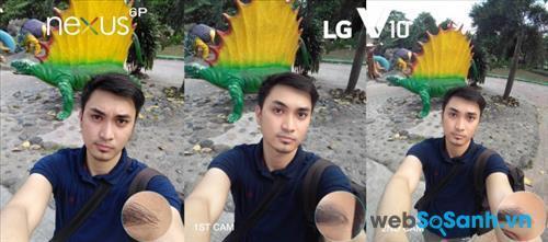 So sánh khả năng chụp ảnh selfie