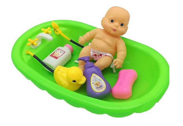 Bộ đồ chơi bồn tắm búp bê
