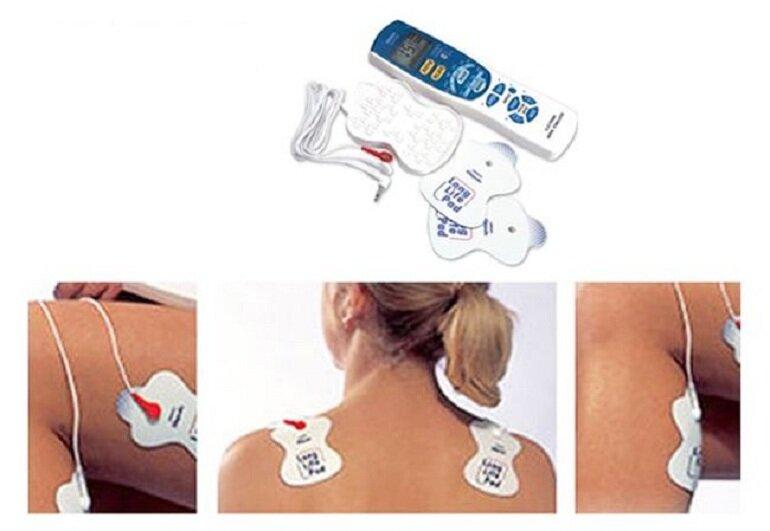 Máy massage Omron HV-F013 giúp giảm đau mỏi toàn thân hiệu quả